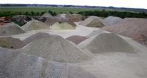 Services: Sand / Schotter